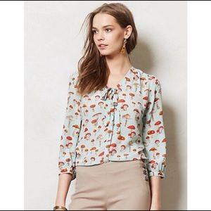 Anthropologie RARE toadstool blouse 4